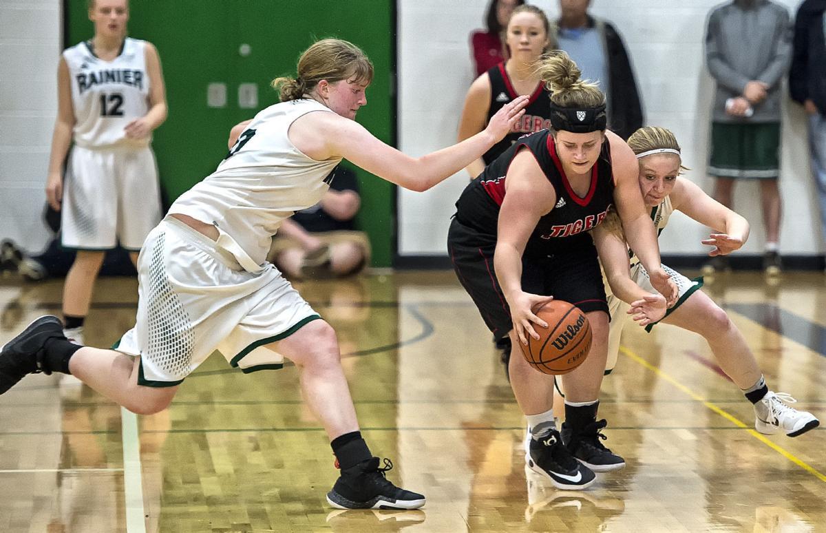 Rainier-Clatskanie girls basketball