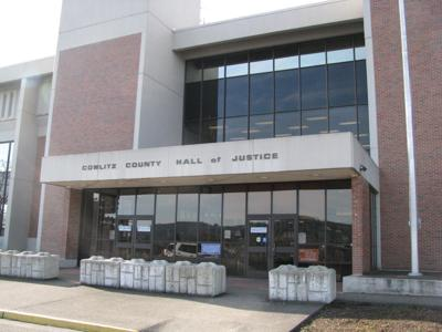 Cowlitz County Hall of Justice STOCK