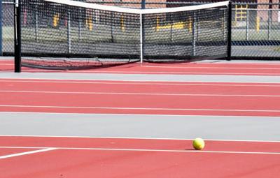 Empty tennis