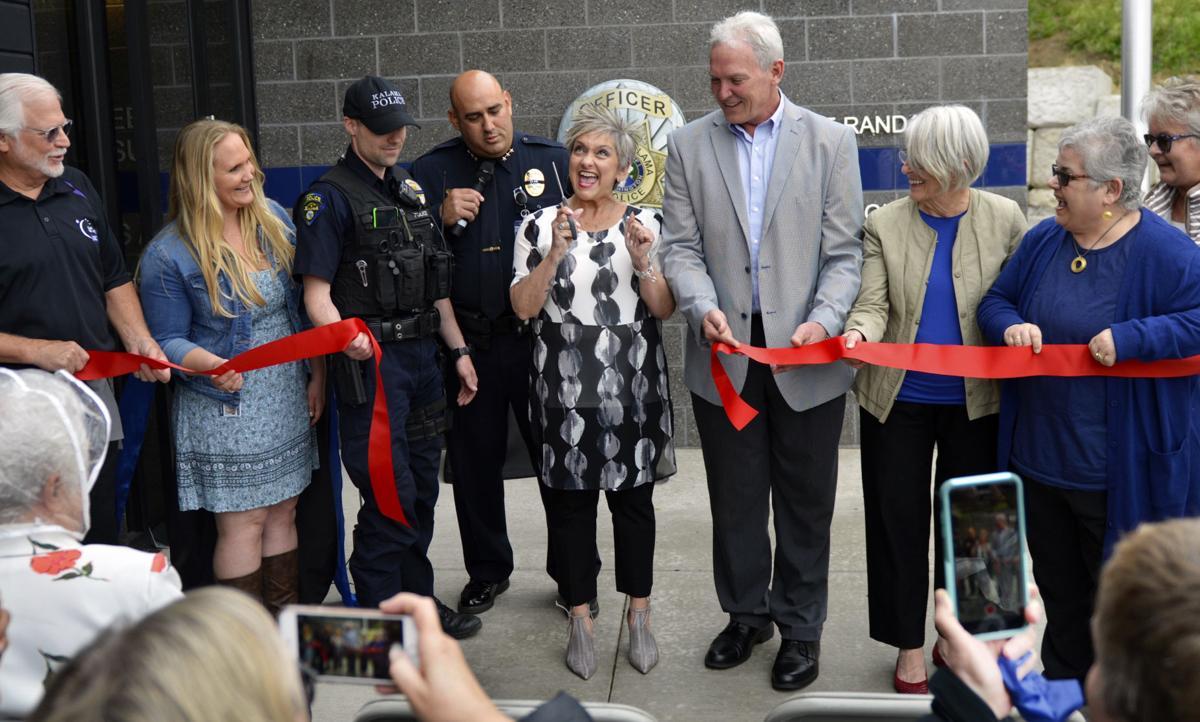 Kalama police station ribbon cutting