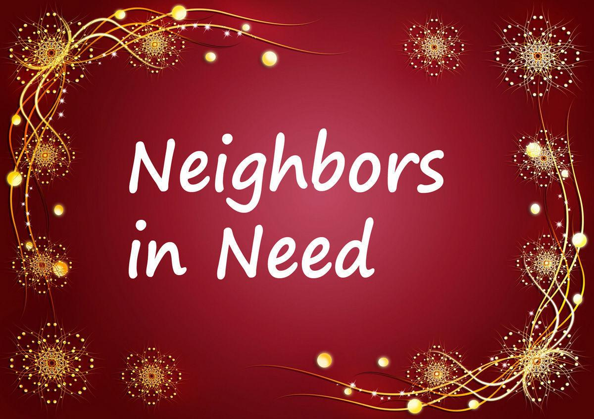 Neighbors in Need: Donate Here!
