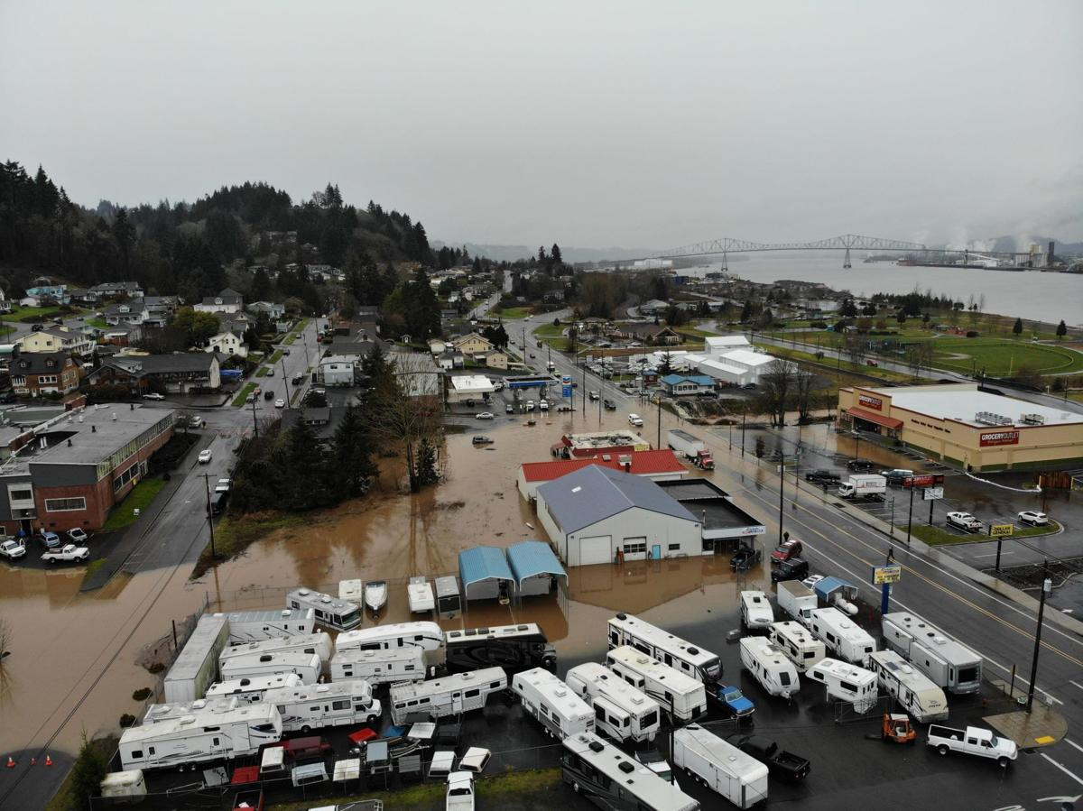 Rainier flooding