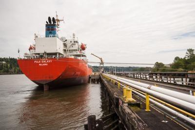Global Partners transloading facility