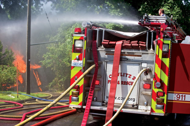 Kelso house fire