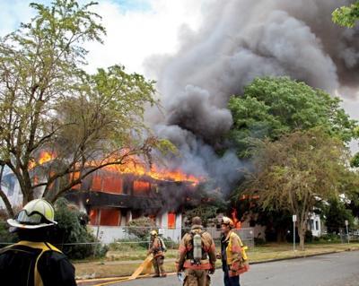 Maple Terrace fire