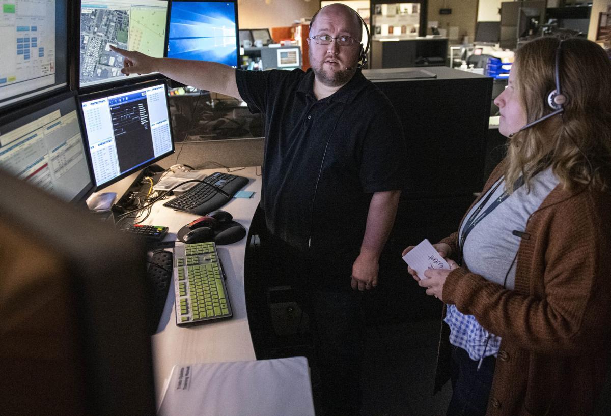911 center training