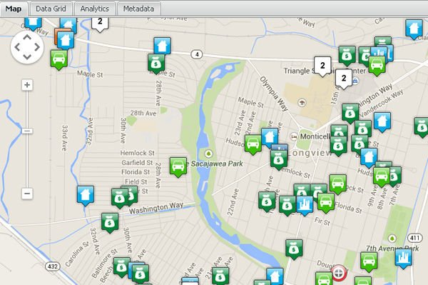 Automated crime mapping service now includes Cowlitz County