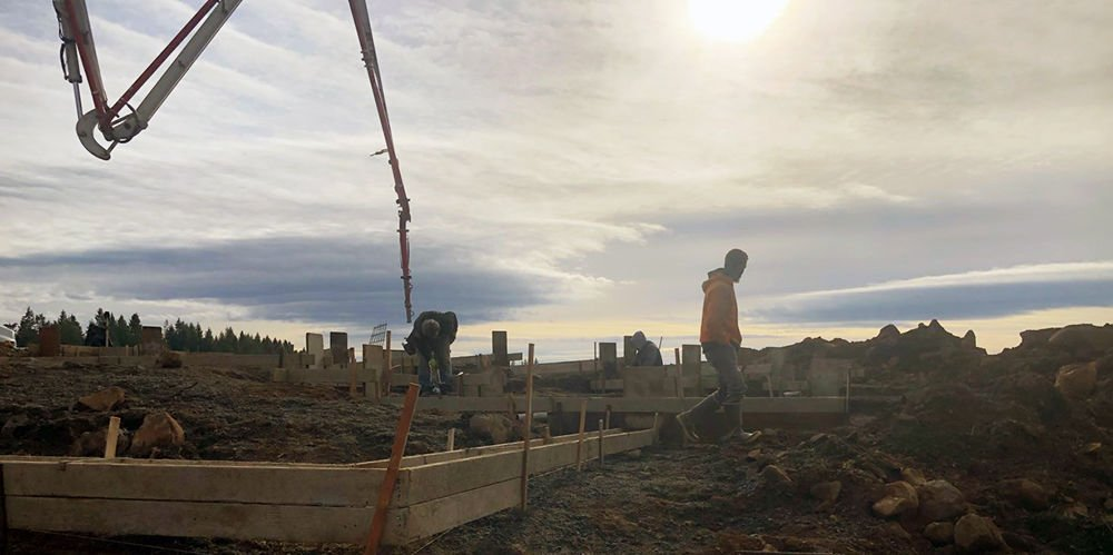 New Rock Homes construction