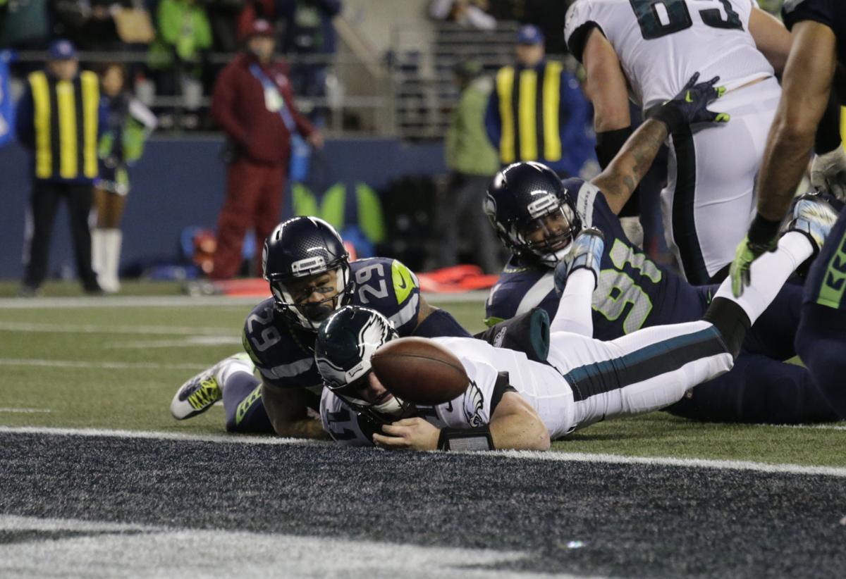 Eagles Seahawks Football