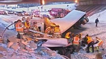 Update: Semi truck driver in Wednesday crash dies | News | tdn com