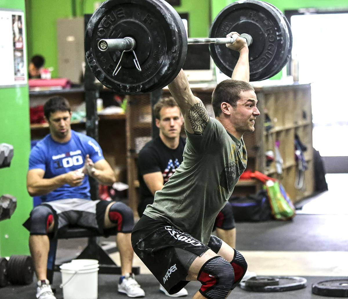local man works his way from crossfit newcomer to regional