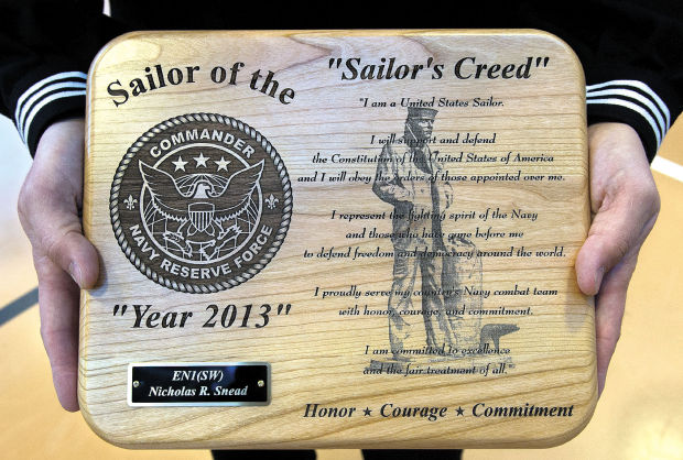 Woodland Man Named 2013 Navy Reserve Force Shore Sailor Of