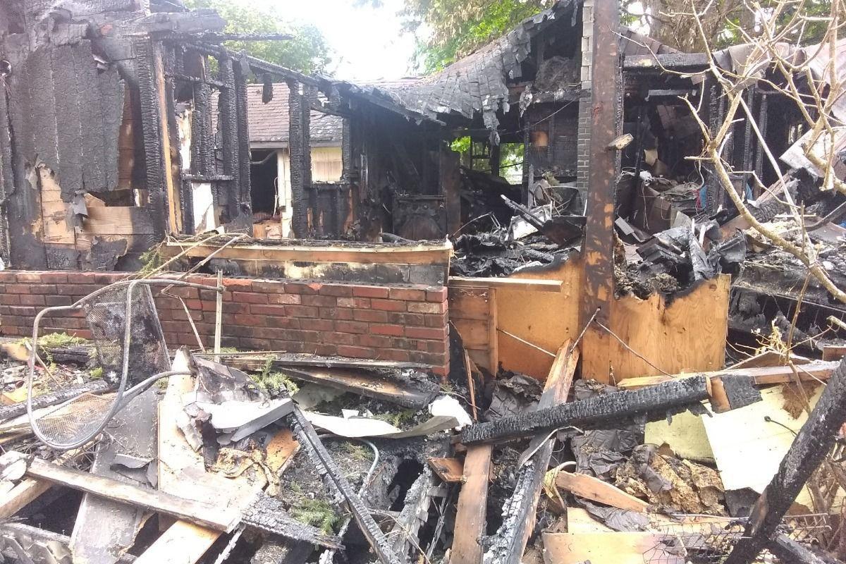 Castle Rock house fire