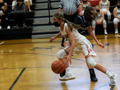 Paige Mace Wahkiakum girls basketball