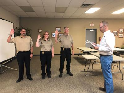 Cowlitz County Chaplaincy commissions three new chaplains
