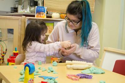 Cassie Jimenez and daughter