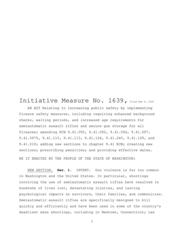 Initiative 1639