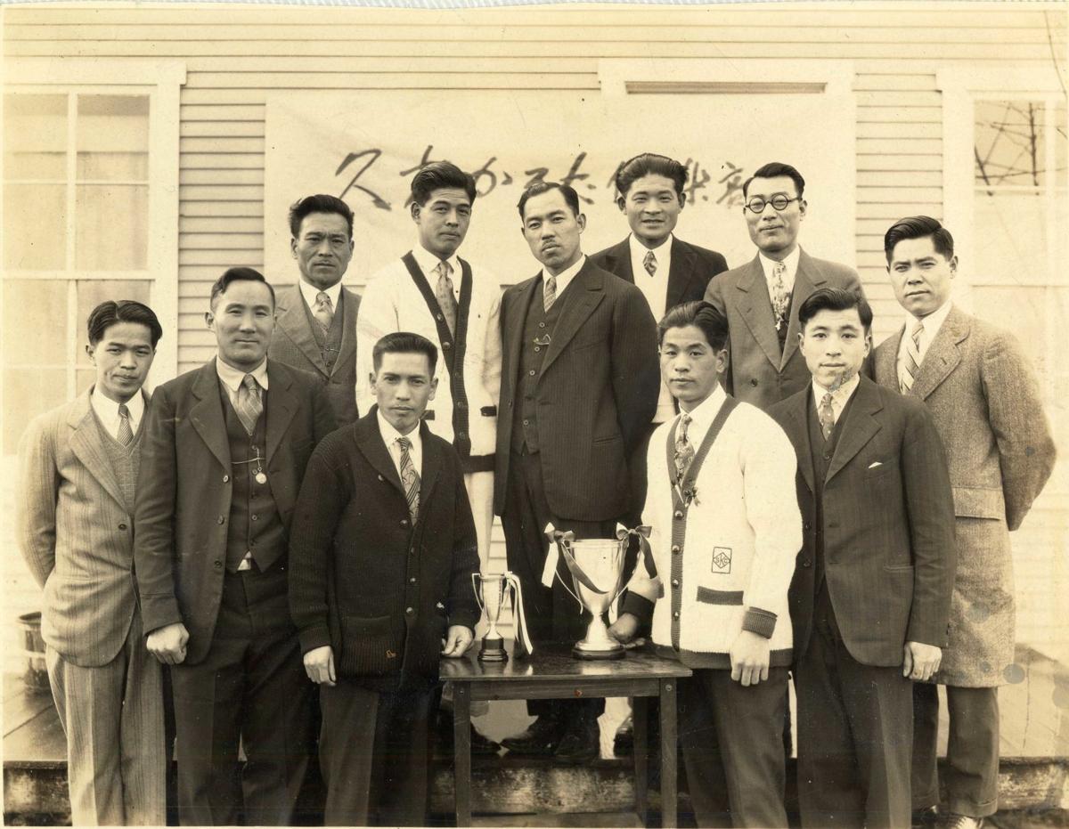 Japanese  bridge players  in Longview