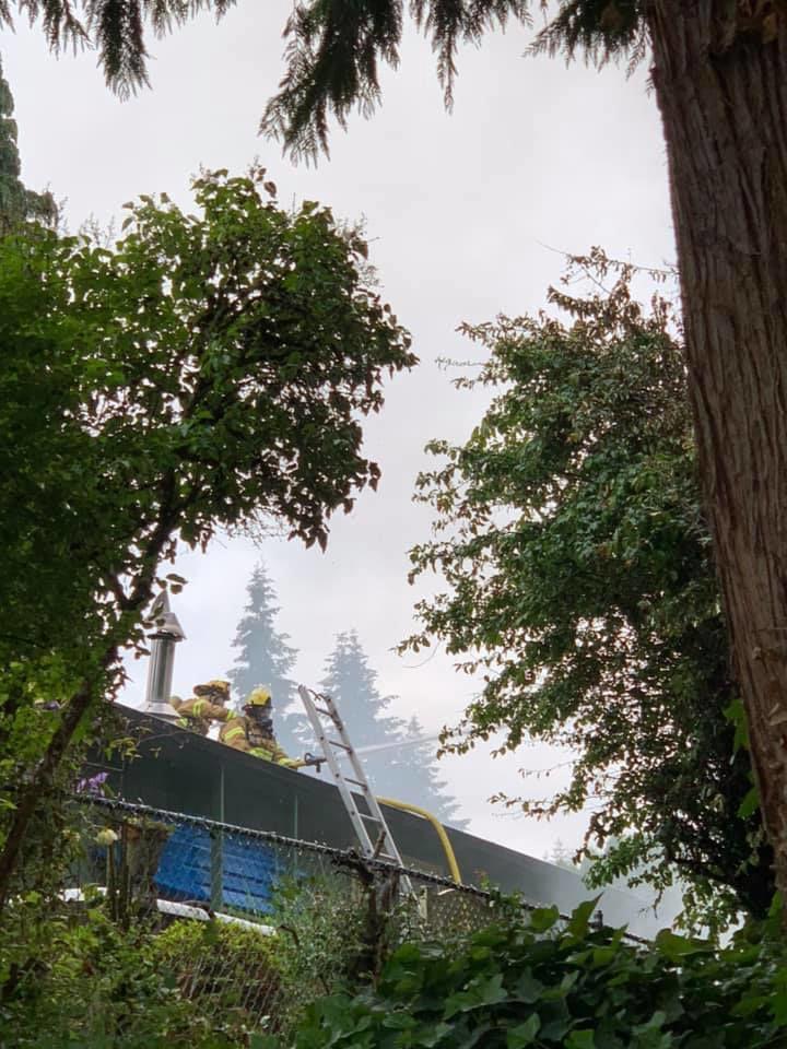 Sunday fire in Rainier 2