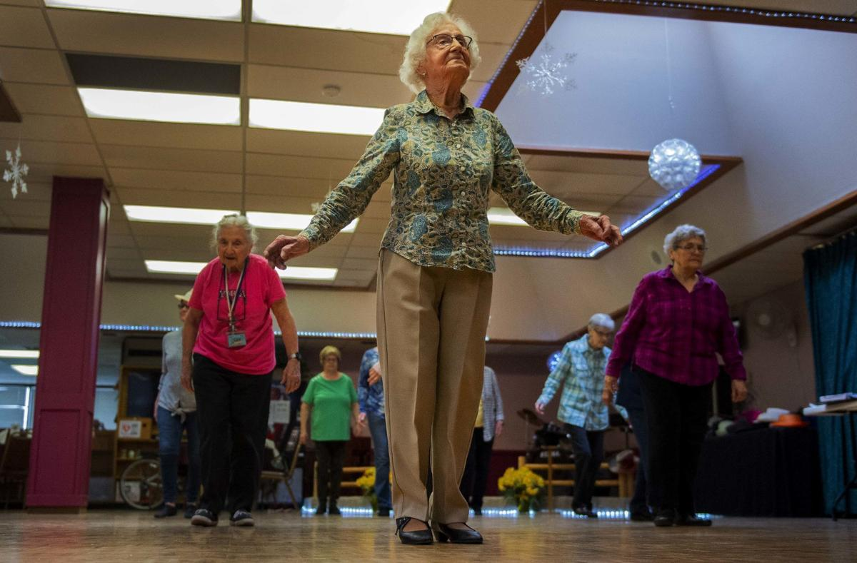 100-year-old Daphne Poole