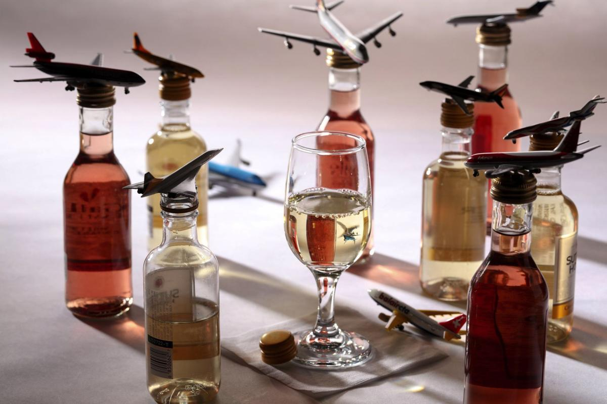 Airplane wines