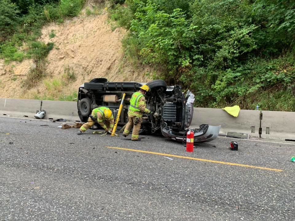 One dead after single-car accident on Highway 30 in Goble