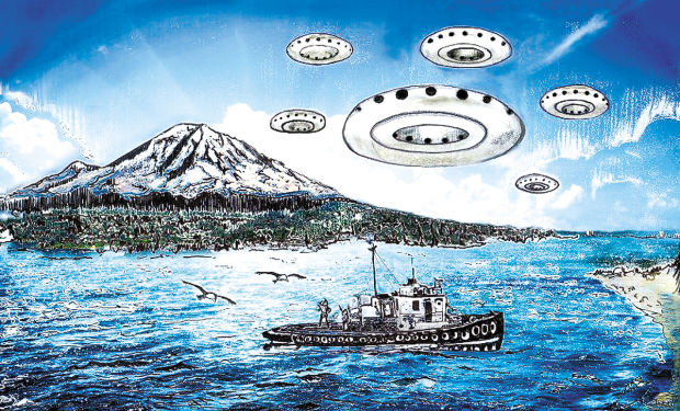 Maury Island UFOs