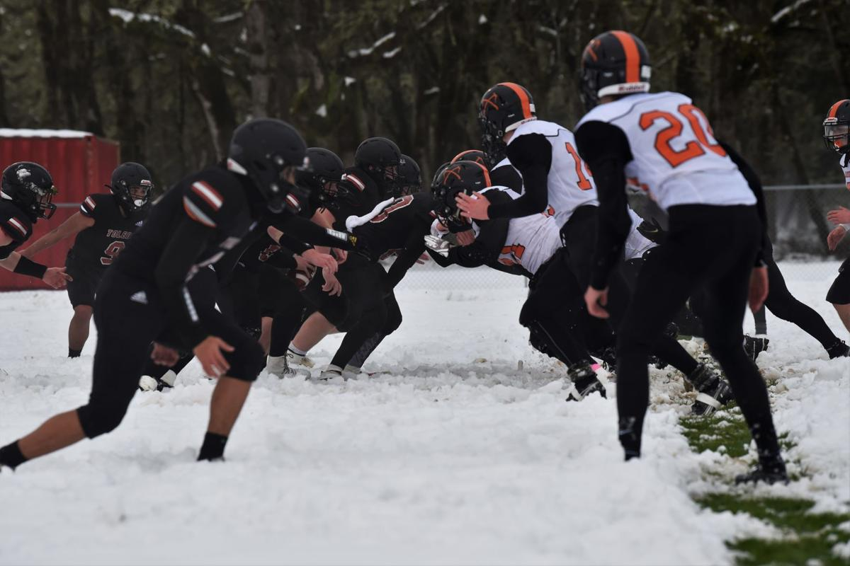 Snow plow offense