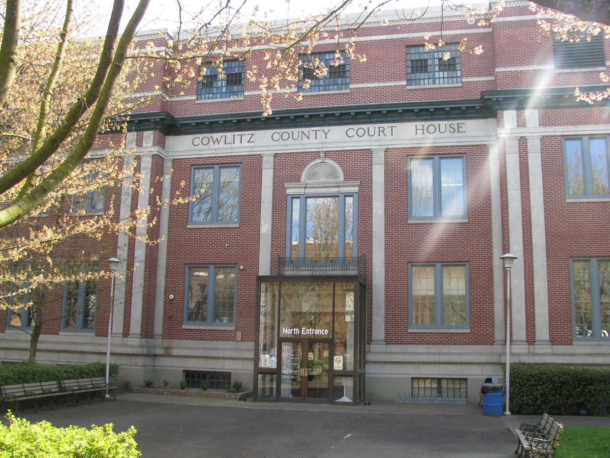 Cowlitz County Courthouse STOCK