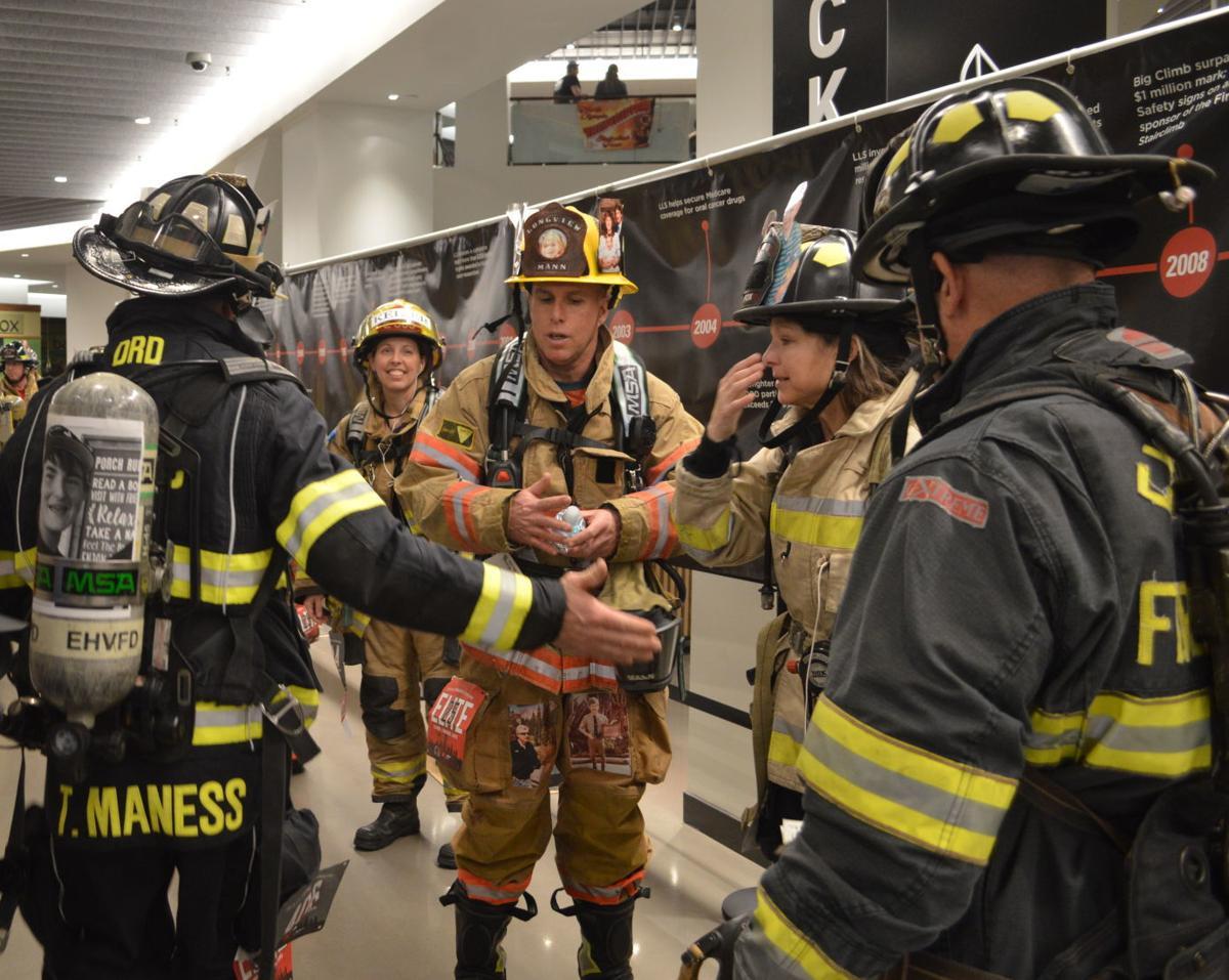 Longview firefighter stairclimb