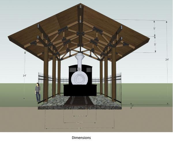 Shay Locomotive Pavilion plans