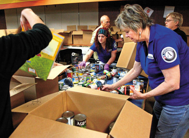 Walk & Knock collects 56,000 pounds of food
