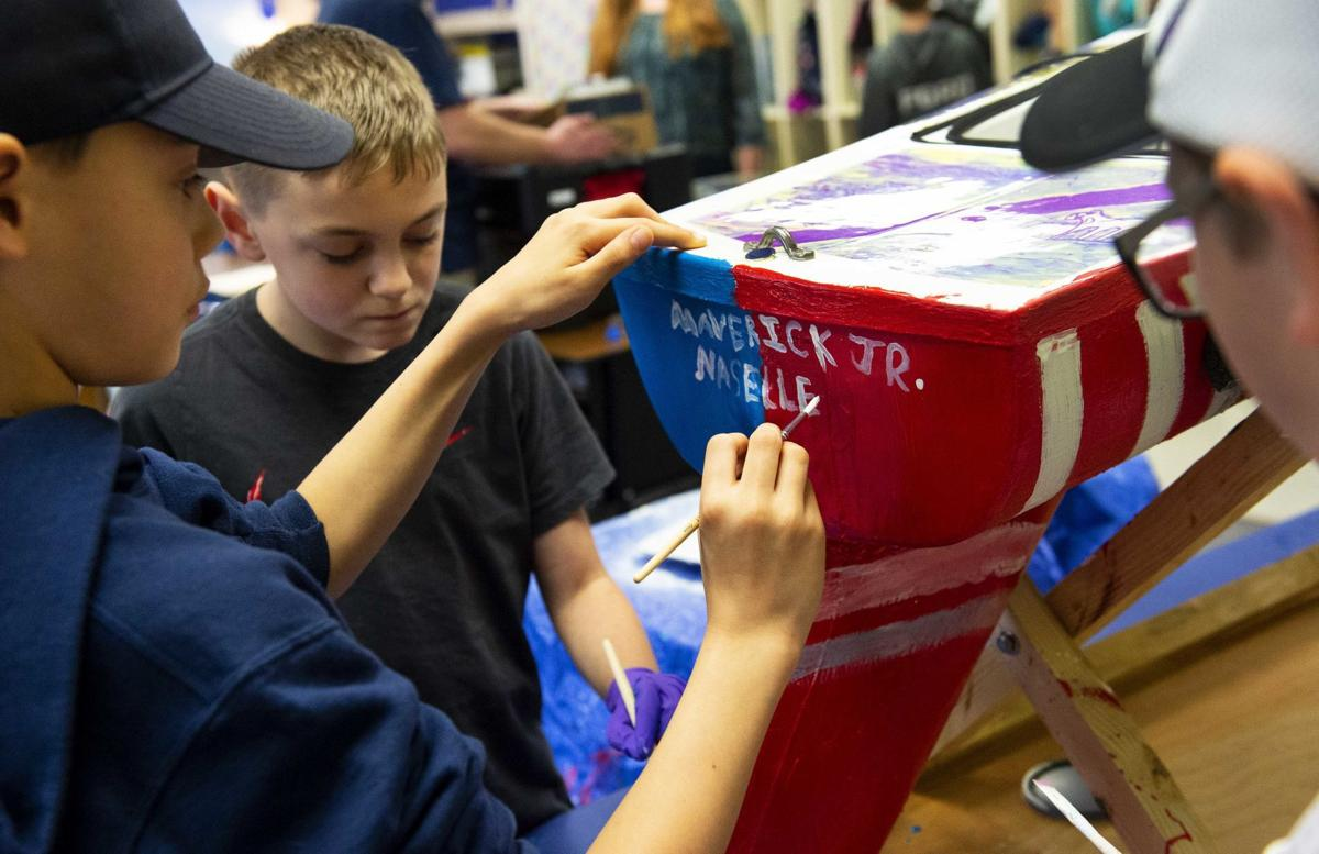 Naselle Elementary Boat Project
