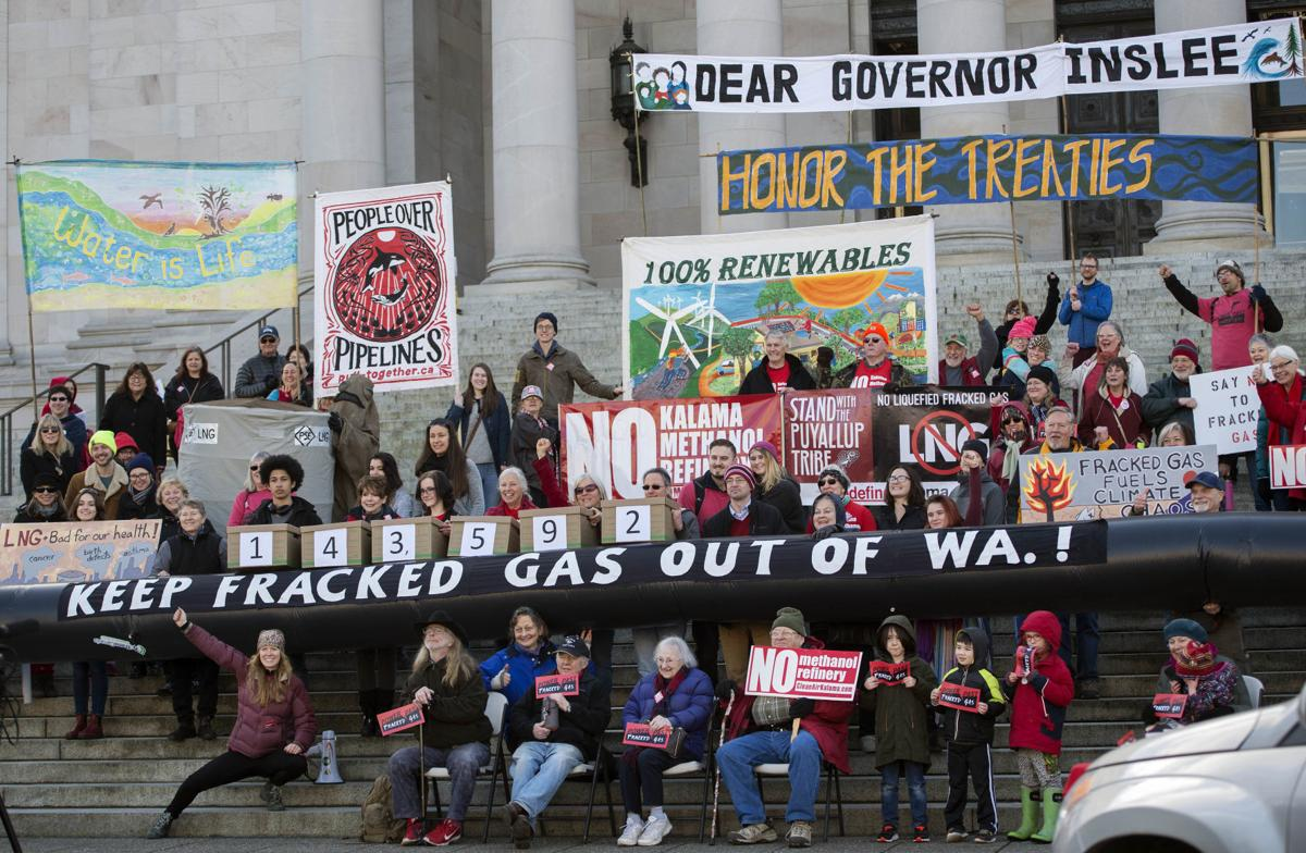 Fracked gas resistance rally