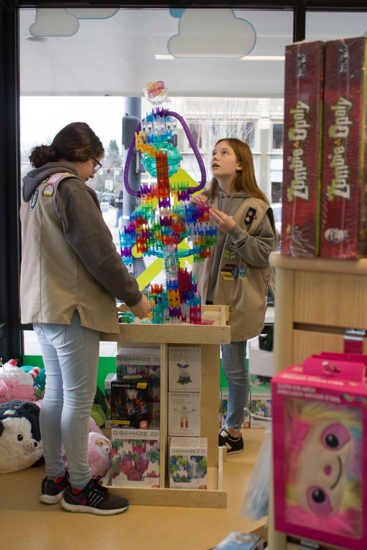 Girls Scouts open retail store in Longview