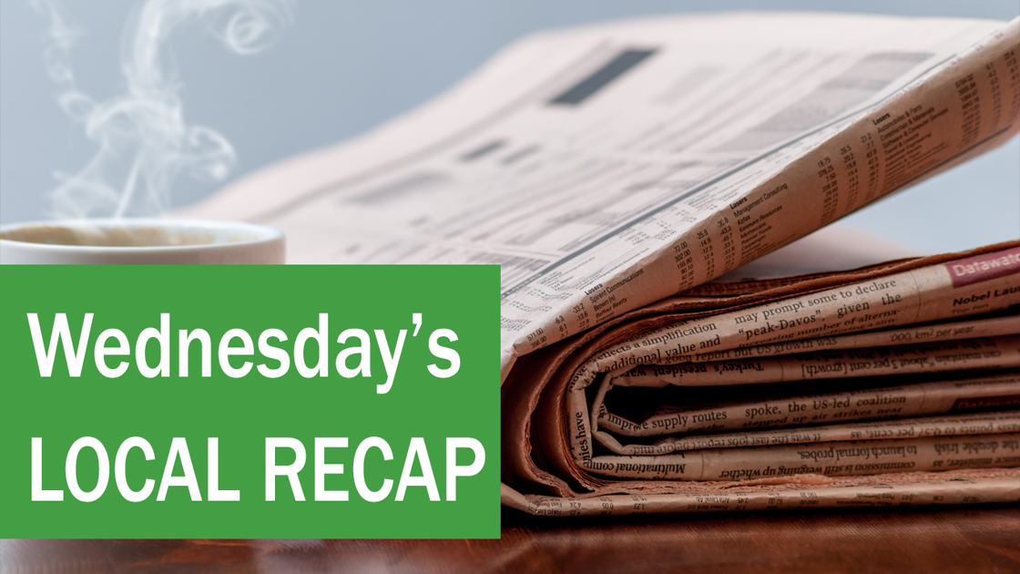 Feb 19. recap: Lower Columbia Area news you may have missed today