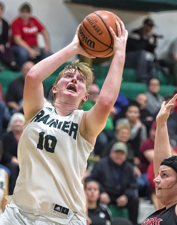Desirae Hansen, Rainier basketball