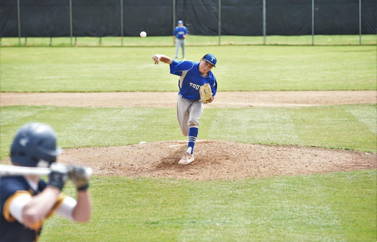 Jackson Cox pitches for Toutle Lake district title game