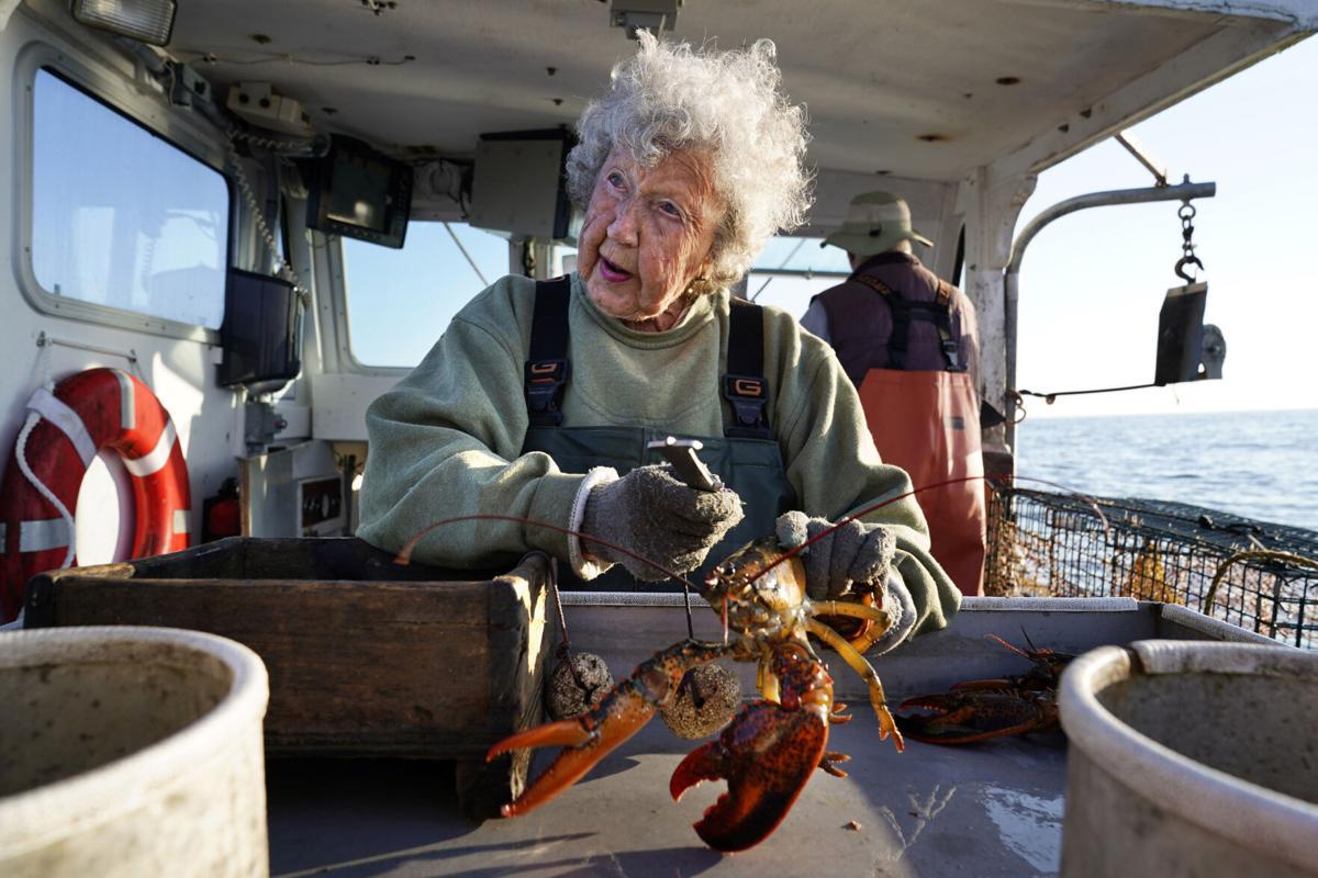 Centenarian Lobsterwoman