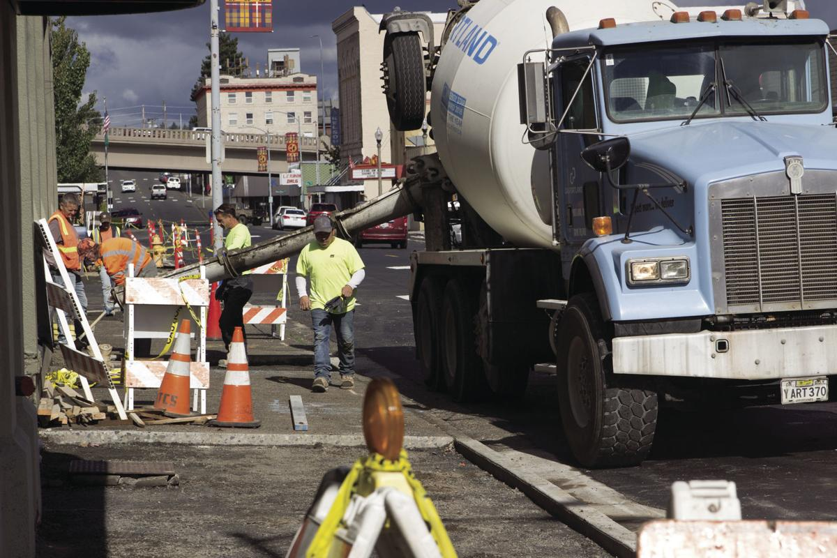 Pacific Avenue construction nearly done