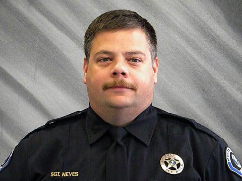 Castle Rock Police Sgt. Scott Neves