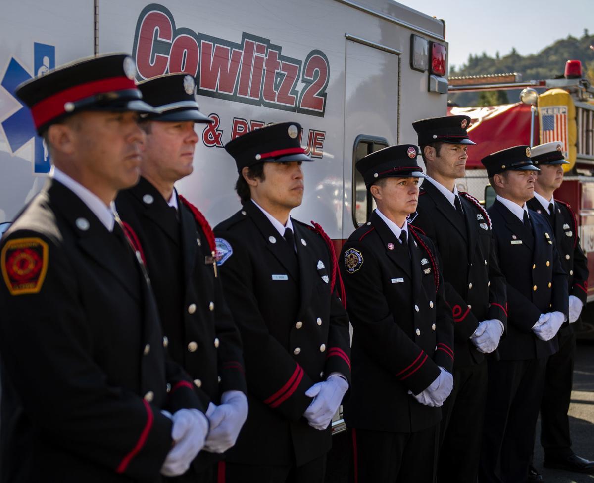 Regional firefighters