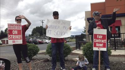 Longview Teachers Strike