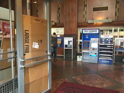 Longview Post Office vandalism