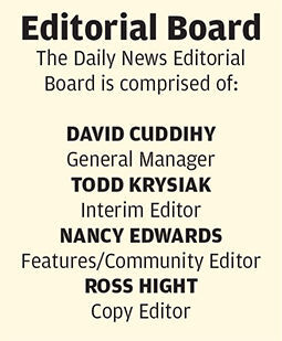The Daily News Editorial Board listing