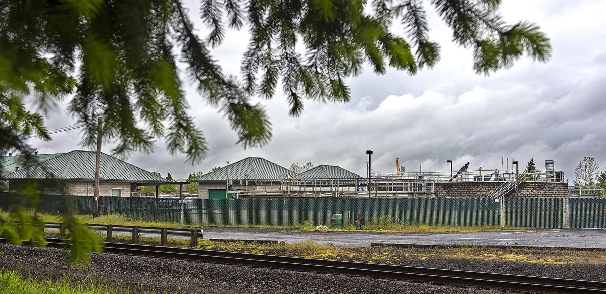 Rainier wastewater treatment plant