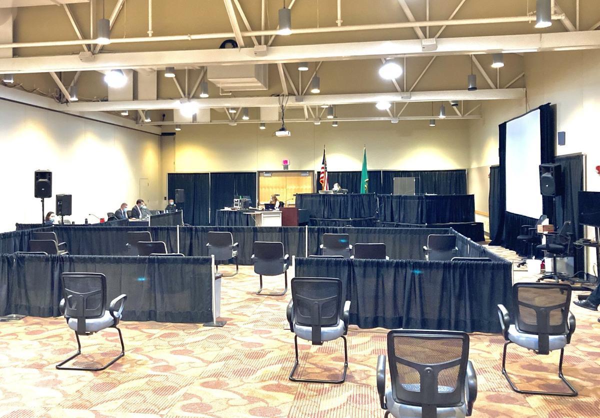 Criminal trial at Event Center