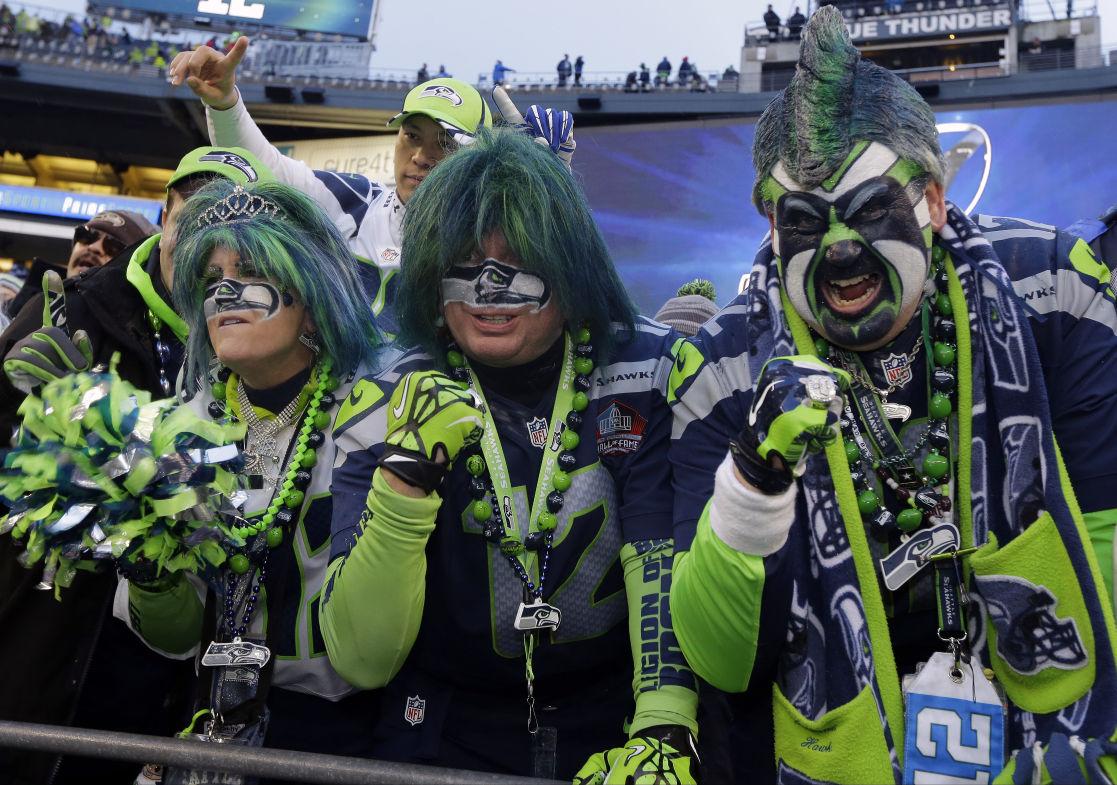 Slideshow: Seahawks' 12th man