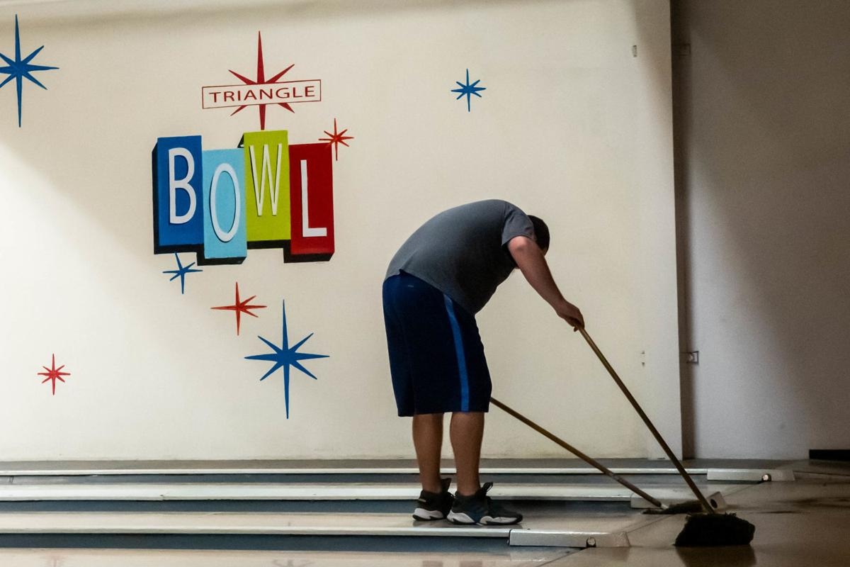 Sweeping the lanes