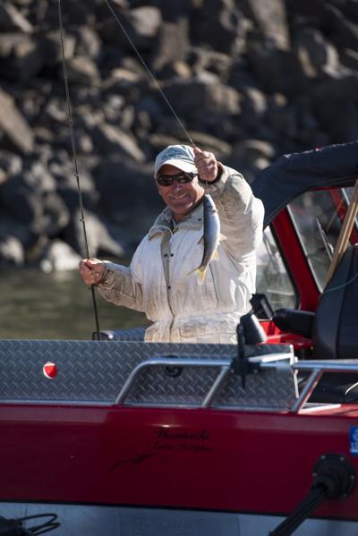 Angler catches pikeminnow